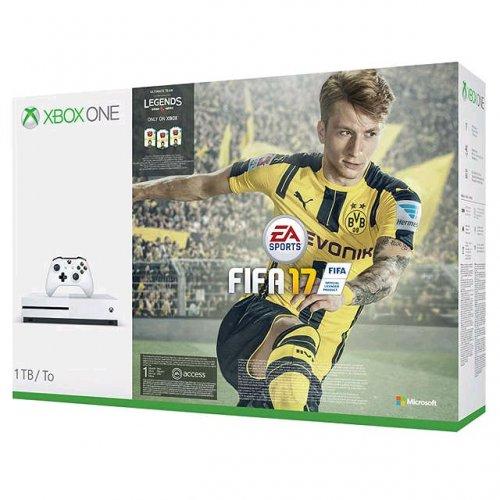 Xbox one s Fifa 17 1TB bundle at John Lewis (2 Years Warranty) £289.95