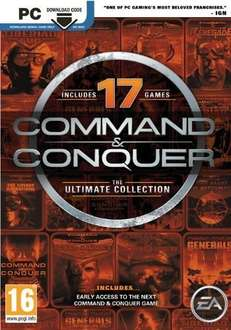 [Origin] Command And Conquer: Ultimate Edition £3.79 (CDKeys With Facebook 5%)
