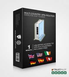 Pre configured VPN UK Proxy router £27.99 @ Amazon