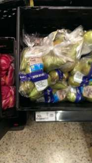 Conference pears now 50p a pack at Asda