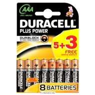 Duracell 5+3 Free Plus Power AA/AAA Batteries now £2.99 [was £3.99] @ B&M