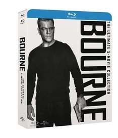 Bourne Collection blu-ray (inc UV copy) pre-order. All 5 films. £22.50 with code @ Zoom