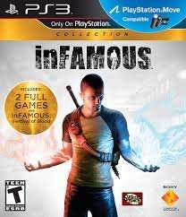 Infamous collection with ps plus £7.99 (ps3) @ psn