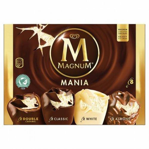 magnum classic/mania 8 pack £2.49 heron foods