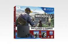 PlayStation 4 Slim (PS4) 1TB + Watchdogs 2 + Watchdogs £274 @ Tesco