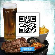 It's back...steak, chips and a drink £4.99 at Sizzling pubs