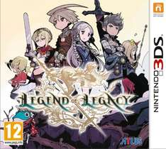 The Legend of Legacy (Nintendo 3DS) £16.49 @ Amazon Lightning Deal