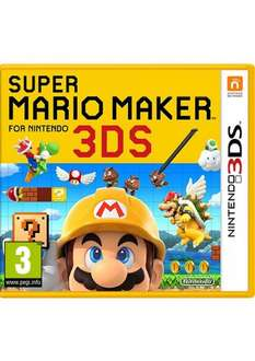 Super Mario Maker 3DS (Released 6th December) £27.85 Delivered @ Simply Games
