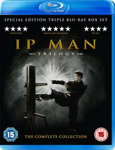 IP Man 1,2 & 3 Blu Ray Boxset £11.99 @ Zavvi