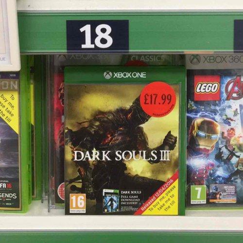 Dark Souls 3 Xbox one £17.99 @ Sainsbury's