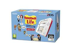 2DS Nintendo Handheld Console - White/Red with Pre-installed Tomodachi Life £69 @ Amazon