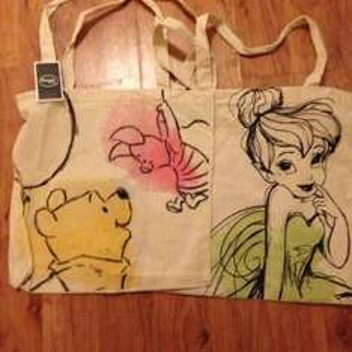 Disney canvas bags £1  in Poundland