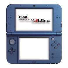 New Nintendo 3DS XL Metallic Blue / Metallic Black £144 @ Amazon (Tesco Direct price-match)