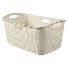 Curver My Style Cream 47L Laundry Basket at Tesco direct,£4.50+£2C&C or FREE C&C from 21st Sep.
