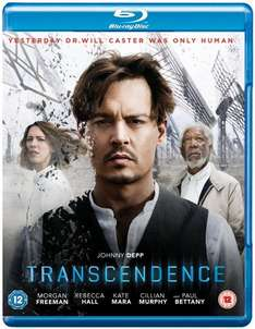 [Blu-Ray] Transcendence £3.74  (Prime) / £5.75 (non Prime) Sold by MusicnMedia and Fulfilled by Amazon