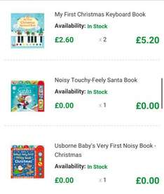 usbourne Christmas books at elc 4 books for £6.70 c&c included @ ELC