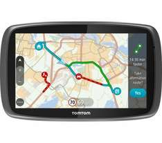 TomTom GO 610 6 Inch 2D/3D Eco and Traffic, REFURBISHED 12MONTH WARRANTY £99 @ ArgosEbay