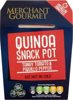 Merchant Gourmet Quinoa Snack Pot Tangy Tomato and Piquillo Pepper (210g) was £2.00 now £1.00 (Rollback Deal)  @ Asda