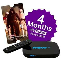 Now TV Smart Box with 4 Months Sky Movies Pass and Freeview HD £35 but get it for £30 when you add on filler item @ Tesco Direct C&C (also at John Lewis £35)