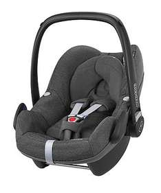Save £70 when you buy a selected Maxi-Cosi Pebble Infant Car Seat and a Maxi-Cosi FamilyFix Isofix Base £270 @ Mothercare