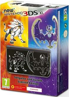 NEW Nintendo 3DS XL Console Pokémon Sun and Moon Edition £154 (No Game Included) @ Amazon