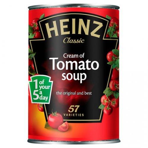 Heinz Soup 50p Each At Tesco,