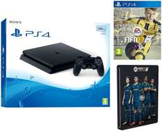 *Amazon student prime* 15% off from £260 to £221 Sony PlayStation 4 (PS4)500GB Slim + FIFA 17 Standard Steelbook (Exclusive to Amazon.co.uk) £221 @ Amazon