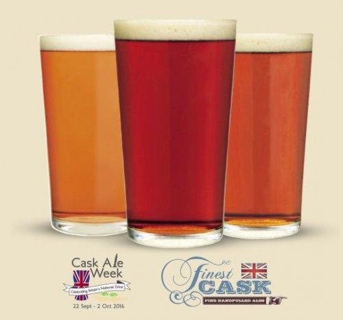 Free Cask Ale Pints, T-Shirts