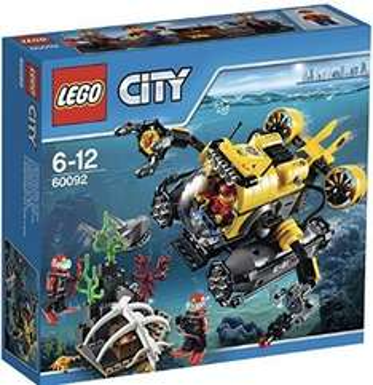 Lego City Explorers Deep Sea Submarine £13.04 Prime / £17.79 Non-Prime @ Amazon