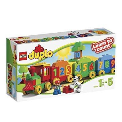 Lego Duplo Number Train, £6.52 (Prime) / £11.27 (non Prime) @ Amazon (Due in stock October 3)