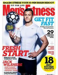 Mens Fitness subscription at Magazine Subscriptions £5 for 5 months topcashback of £4.54 making it a grand total of