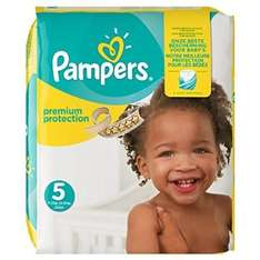 Pampers Premium Protection Nappies Monthly Saving Pack - Size 5, Pack of 136, £3.11 (2.2p per nappy) at Amazon delivered with S&S and Amazon Family