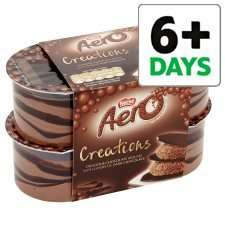 Aero Creations Chocolate Mousse with delicious Dark Chocolate (4 x 57g) was £1.50 now 75p @ Tesco