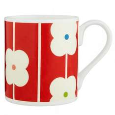 Orla Kiely Red Abacus Mug (brown also available at this price) and on offer at 3 for 2 £4.75 - Free c&c at House of Fraser