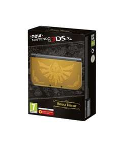 Refurbished New 3DS XL Hyrule Edition Tesco's Outlet (Via eBay) 12 Months Warranty £129.99 @ Tesco / Ebay