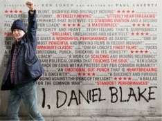 SFF I, Daniel Blake: New Date 1 October: Free Cinema Tickets ( some new venues)