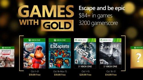 October's Games with Gold (Super Mega Baseball: Extra Innings / The Escapists / MX vs ATV Reflex / I Am Alive)