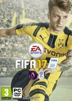 Fifa 17 PC PreOrder +10% quidco +x4 reward points - download only @ Game.co.uk for £42.99