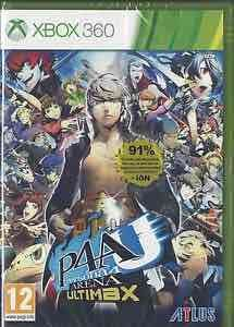 persona 4 arena ultimax (xbox 360) new @ ebay/estreetshops for £6.95