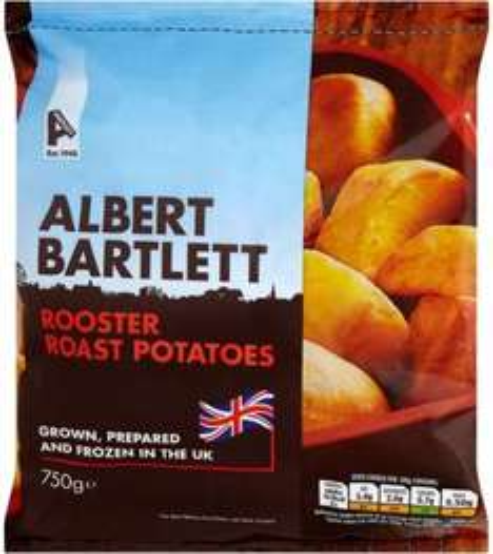 Albert Bartlett Rooster Roast Potatoes (750g) was £2.00 now £1.00 @ Sainsbury's