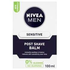 Nivea for Men Sensitive Post Shave Balm better than half price £2.62 at Superdrug, plus free gift if you buy two