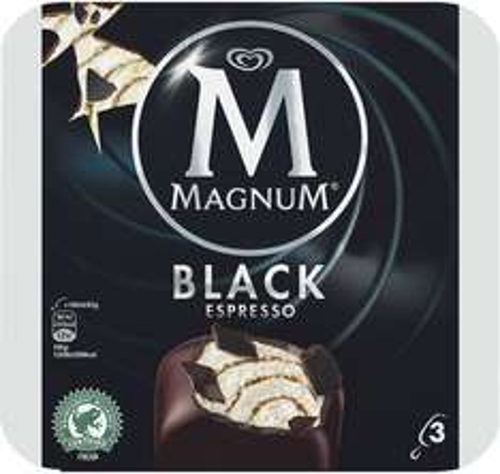 Magnum Ice Cream Black Espresso (3 x 100ml) was £3.25 now Only £1.50 @ Sainsbury's