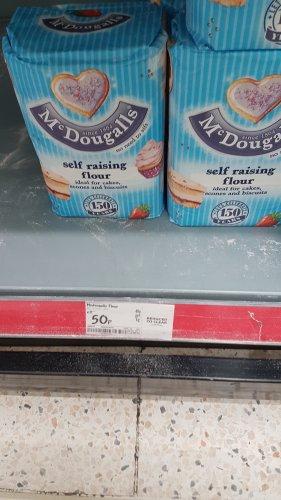 McDougalls Self Raising Flour 1.25kg 50p @ Asda