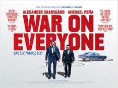 Free Screening of War On Everyone 6:30pm 28th September 2016 - Glasgow / Manchester & London