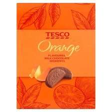 Orange Flavoured Milk Chocolate Segments 160g 50p @ Tesco
