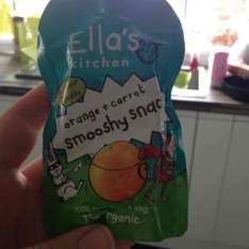 Ella's Kitchen Smooshy Snack single pouches 20p at Sainsburys, Dewsbury