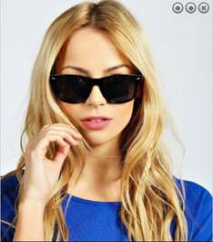 Various Retro Sunglasses £1 @ Boohoo Free next day delivery till 5pm
