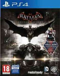 batman arkham knight (ps4) used £11.24 OR £13.40 new  with code @ music magpie
