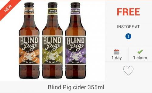 FREEBIE: 2 x Blind Pigs Cider (355ml) via Checkoutsmart & Clicksnap Apps - £1.99 @ Asda, Tesco & Morrisons Only...