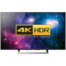 """Sony Bravia 55XD8005 LED HDR 4K Ultra HD Android TV, 55"""" With Youview/Freeview HD, Playstation Now & Silver Slate Design (FREE Bluetooth Sound Bar with Wireless Subwoofer £279.00) £999.95 @ John Lewis"""